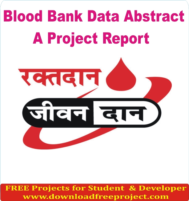 Free Blood Bank System In Asp.Net Projects Download