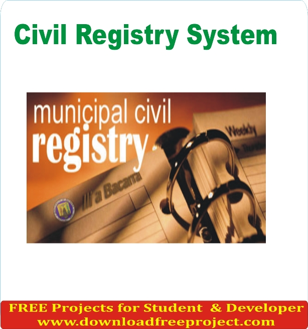 Free Civil Registry In Asp.Net Projects Download