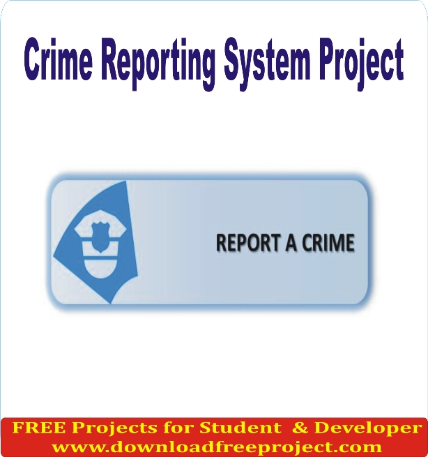 Free Crime Reporting System In PHP Projects Download