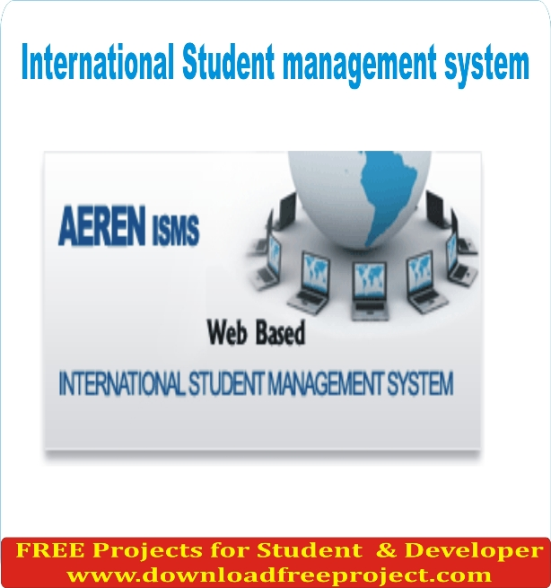Free International Student management system In PHP Projects Download