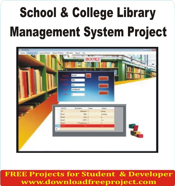 Free Library Management System Project In Asp.Net Projects Download