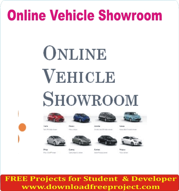 Free Online Vehicle Showroom In PHP Projects Download