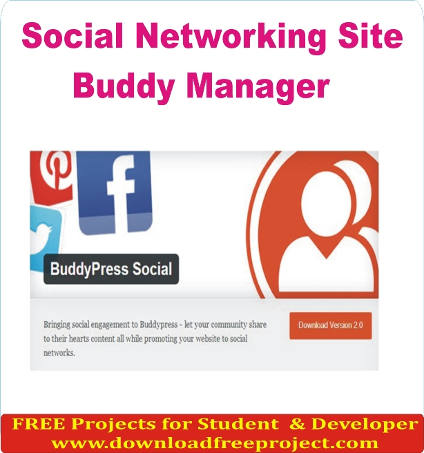 Free Social Networking Site In PHP Projects Download