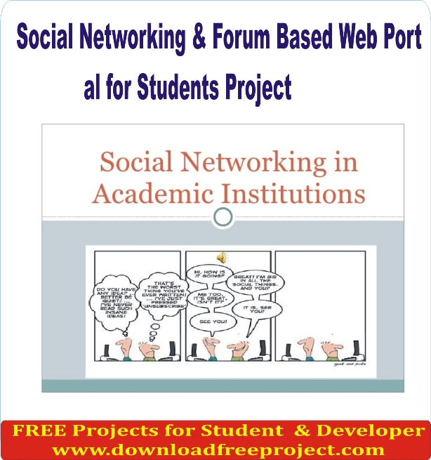 Free Social Networking and Forum Based Web Portal In PHP Projects Download