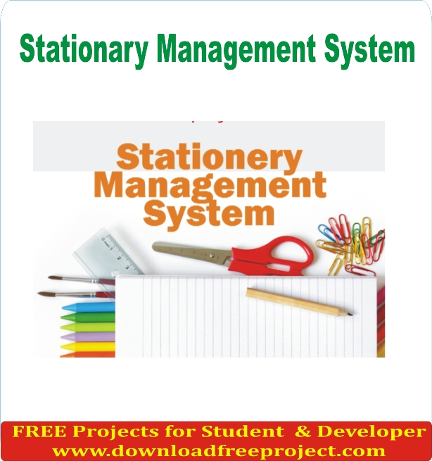 Free Stationary Management System In Asp.Net Projects Download