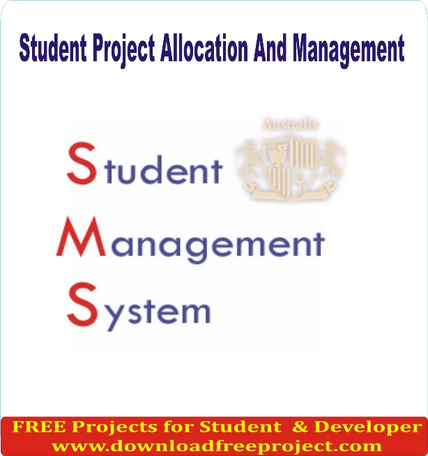 Free Student Project Allocation And Management In PHP Projects Download